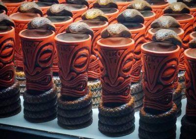 Tiki Ti Cobra Snake Mugs