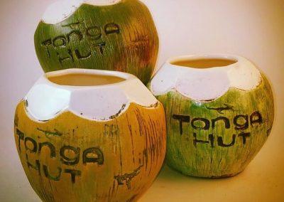 Tonga Hut Coconut Mugs