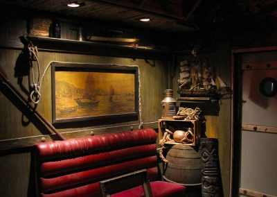 Tonga Hut Palm Springs - Interior Design