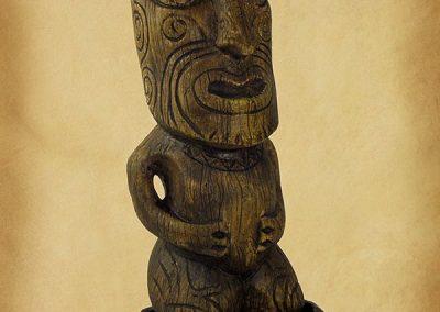 Barney West Tiki Mug