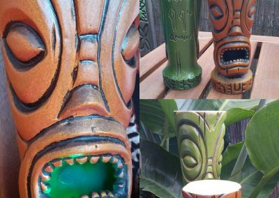 Forbidden Island Tiki Mug