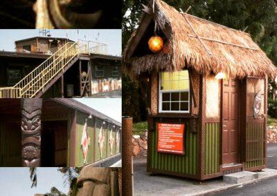 Mission Tiki Drive-In Movie Theater Designs