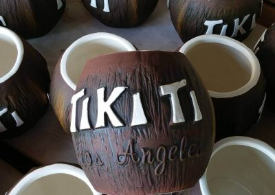 Tiki Ti Coconut Mugs