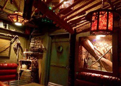 Tonga Hut Palm Springs - Interior Design