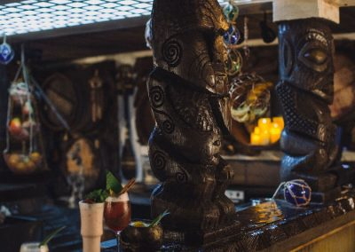 Undertow Nautical Tiki Exotic Interior Design